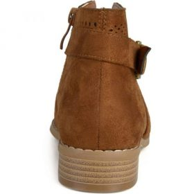 Chaussure pour homme de couleur marron