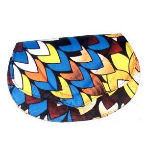 Pochette à Main Grande Dame - En Wax adis abeba - disponible en différente motif