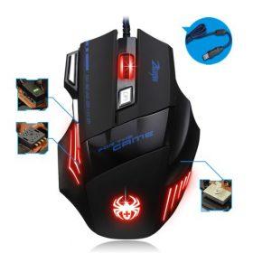 Souris Gamer Gaming Multi Couleur LED Optique