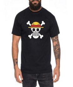 T-shirt one peace courtes maches