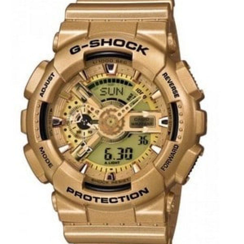 Montre G-Shock Dorée