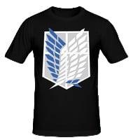 T-shirt attaque des titans