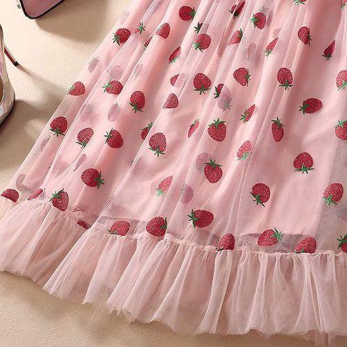 robe fraise