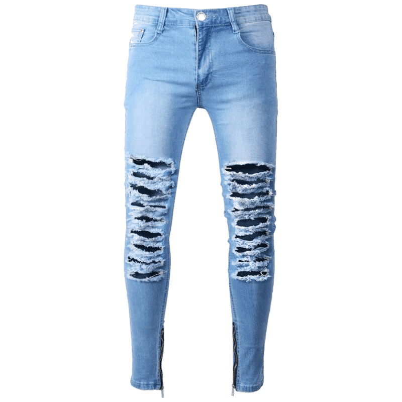 jeans déchirer homme