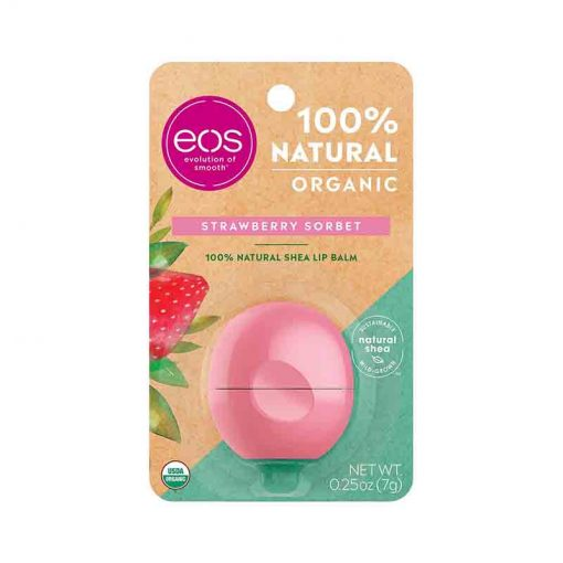 EOS Baume à Lèvres 100% Natural Tropical Mango