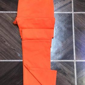 Pantalon kaki orange