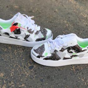 Nike Jordan Gris noir Dégradé