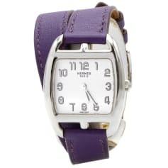 montre violet Hermès femme