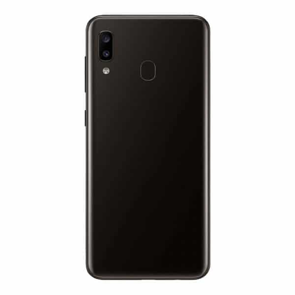 téléphone Android vue de dos
