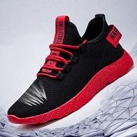 Chaussures de Sport pour Homme - Rouge