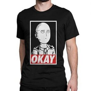T-shirt Saitama One Punch Man