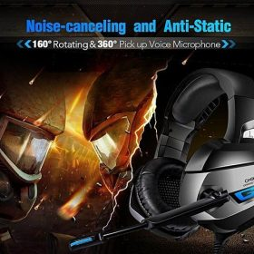 casque gamer + microphone