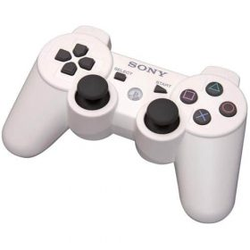 Manette PS3 Dual Shock 3 - blanche