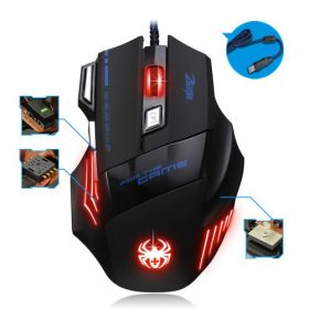 Souris Gamer Gaming Multi Couleur LED Optique
