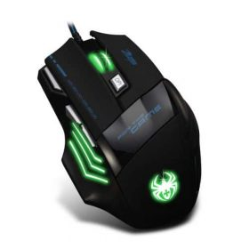Souris Gamer Gaming Multi Couleur LED Optique5