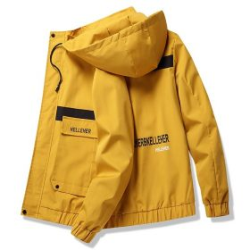 capuche jaune pour homme