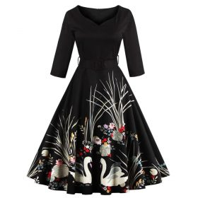 robe noire signe
