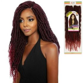 AFRI NAPTURAL Mane Concept 2x Grande Nomadik Passion Twist Crochet Braid
