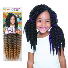Afri-Naptural Kids Rock Senegal Bantu Twist 10″