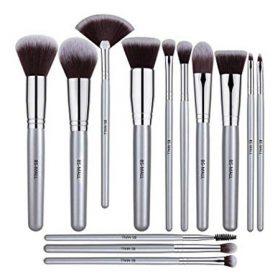 Set de 14 pinceaux kabuki silver teint & yeux BS