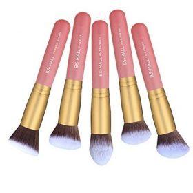 Set-de-14-pinceaux-kabuki-pro-rose-gold-teint-yeux