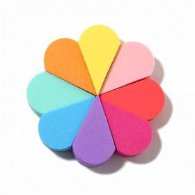 URBAN STUDIO Rainbow Pop Set de 8 Eponges