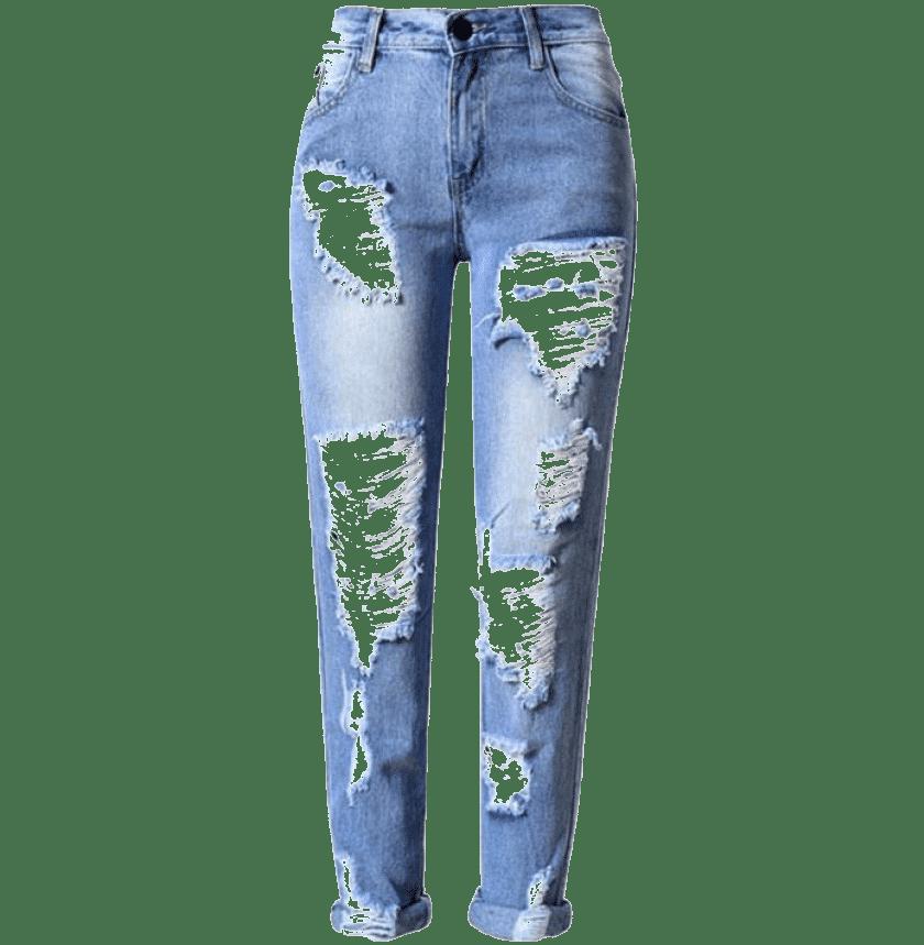 jeans déchirer