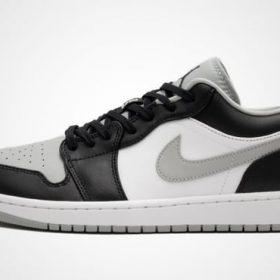 Jordan coupé noir blanc