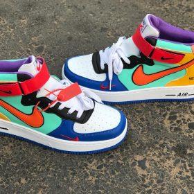 Nike Jordan multi couleur