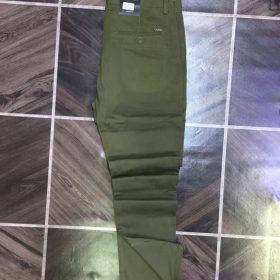 pantalon kaki vert