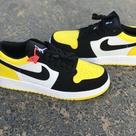 Nike Jordan jaune noir
