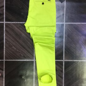 Pantalon vert fluo