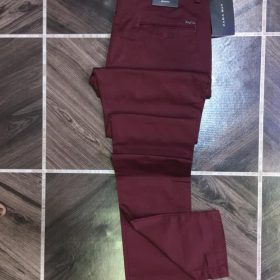 Pantalon rouge bordeaux